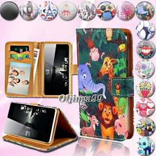 For Various VKWORLD Mobile Phones - Leather Wallet Card Stand Flip Case Cover