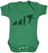 Baby Evolution To A Fairy - Baby Bodysuit