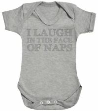 I Laugh In The Face Of Naps - Baby Bodysuit