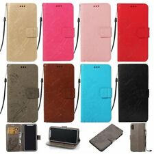 For Xiaomi Phone case cover PU leather wallet flip folios strap magnetic stand