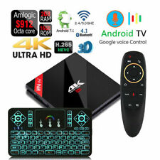 H96 Pro+ Octa Core 2GB DDR3 VOICE CONTROL Bluetooth 4.1 Dual WiFi Android TV Box