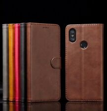 For Xiaomi Mi A1 A2 Lite Magnetic Flip Leather Wallet Case Card Stand Cover A