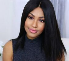 Straight Brazilian Remy Hair Front Lace Wigs Straight Hair Full Lace Wigs 180%