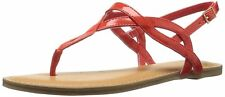 Fergalicious Womens Sunday Split Toe Casual T-Strap Sandals