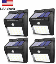 NEW  Lamp20 Solar Lights Motion Sensor Wall Light Outdoor Waterproof Garden Yard