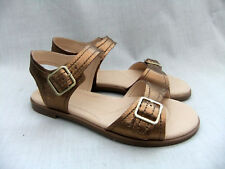 a88780c440043a NEW CLARKS BAY PRIMROSE WOMENS BRONZE LEATHER SANDALS SIZE 4.5   37.5