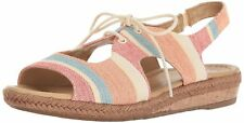 Naturalizer Womens Reilly Open Toe Casual Slingback Sandals