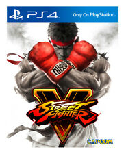 Street Fighter V PS4 Sony PlayStation 4 EA Capcom Video Game