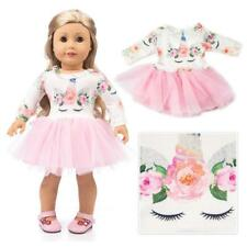 Doll Clothes Unicorn Tulle Dress For 18 inch Girl Our Generation My Life...