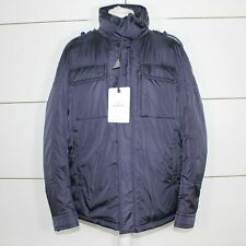 Moncler 'Daumier' Military Down Fill Jacket Navy