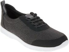 Clarks Cloudsteppers Step AllenaBay Dark Grey Lightweight Slip On Trainers