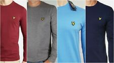 Lyle and Scott Crew Neck T shirts Long Sleeve!!!January Sale!!