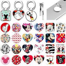Disney Mickey Mouse Cute Metal Finger Ring Phone Grip Tablet Stand Holder Mount