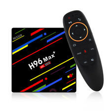 H96 Max Plus RK3328 4G/32G Android 8.1 USB3.0 Voice Control TV Box Support HD...