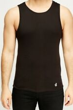 Rocawear Classic Mens Tank Vest 2 Pack - Black and Grey