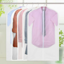 Home Clear Dust-proof Suit Cover Cloth/Dress Garment Bag Storage Protector Case