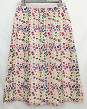 "Boden Womens Ivory Floral Embroidered 31"" Party Skirt Size 10 12 14 16 bnwt"