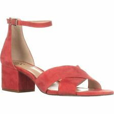 Vince Camuto Womens florrie Leather Open Toe Casual Ankle Strap Sandals