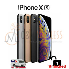 Apple iPhone XS (A1920), Factory Unlocked - 64GB 256GB 512GB - All colors