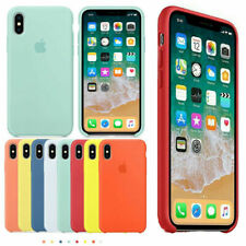 Original Silicone Back Case Protective Cover For iPhone XR XS Max 8 7 6 Plus