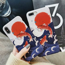 Mascot koi Frosted  Silicone Phone Case Cover For iPhone X XS Max XR 6 7 8 Plus
