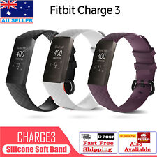 Fitbit Charge 3 Replacement Silicone Watch Wrist Sports Band Strap Wristband AUS