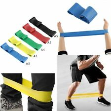 Yoga strap Fitness elastic exercise resistance bands pilates Training Band Body