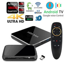 H96 MAX-X2 64GB VOICE CONTROL Dual Wifi Bluetooth HDR 4K Android 4GB DDR4 TV Box