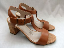7363995166e NEW CLARKS SMART DEVA WOMENS TAN LEATHER SANDALS SIZE 6   39.5