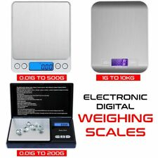 Digital Mini Electronic Pocket Weighing Sales For Kitchen Food Jewelry Gold UK