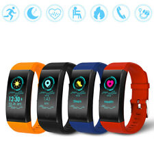 Sport Heart Rate/Sleep Monitor Fitness Tracker Smart Watch Wristband Bracelet SD