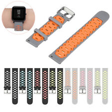 Lightweight Ventilate Soft Silicone Wrist Strap for Amazfit Bip Youth Watch US