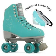 Rio Roller Signature Quad Roller Skates - Green - Optional Skate Bag
