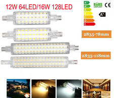 2835 SMD R7S 12/16W  LED Floodlight Corn Bulb Replace Halogen Lamp Room Light