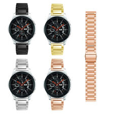 Gear S3 Frontier/Classic/Galaxy Watch 46mm Band,Solid Stainless Bracelet Strap