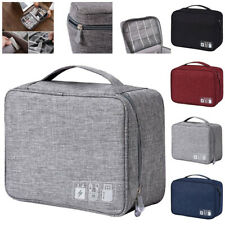 Electronic Accessories Cable Organizer Bag Travel USB Charger Storage Case US