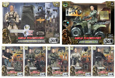 World Peacekeeper 12-Inch Action Figure Set - Please Choose - Poseable Army Men