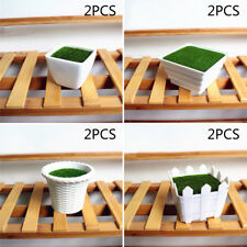 4 Style Plastic Small Plants Flower Pot Potted Flower Succulent Pot Garden Decor