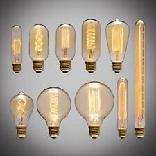 E27 40W Edison Industrial Ampoule Vintage Retro Filament Light Bulb Lamp 220V T