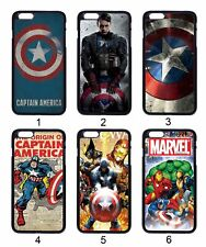 Captain America Avengers Comic For Apple iPhone iPod / Samsung Galaxy Case Cover