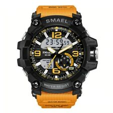 S Shock Military Watches Army Men's Wristwatch LED Quartz Watch Digtial Dual
