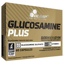 Olimp GLUCOSAMINE PLUS CHONDROITIN Vit C Support Bones Cartilage Joints Collagen