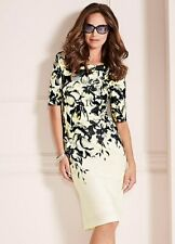 KALEIDOSCOPE FLORAL PRINT DRESS SIZE 20 AND 22 NEW WITH TAG RRP £79.00