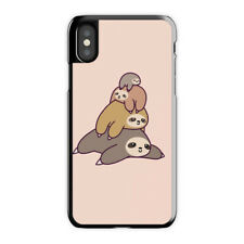 Sloth Stack iPhone Case X 6 7 S 8 Plus, Sloth Stack iPhone Case