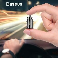 Baseus Mini USB Car Charger For Mobile Phone Tablet GPS 3.1A Fast Charger Car