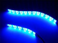 Blue Waterproof Motorcycle LED Light Strip kit 5630 Brightest LED's!