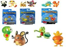 TOMY Pokemon Action Pose 2 Inch Mini Battle Figure Ages 4+ Toy Game Play Pikachu