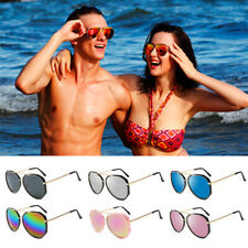 Women Vintage Aviator Mirror Lens Goggles Sunglasses Sport Eyewear Eye Glasses