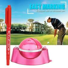 Golf Ball Line Marker Linear Drawing Template Alignment Tool with Mark Pen