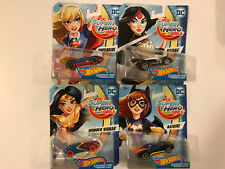 Matel Hot Wheels Character Cars Super Hero Girls - You Pick!!!